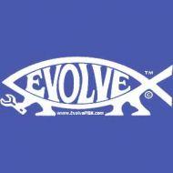 Evolve Fish Sticker